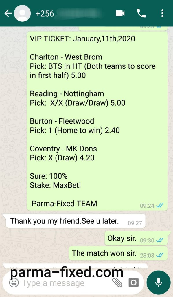 fixed matches ht ft