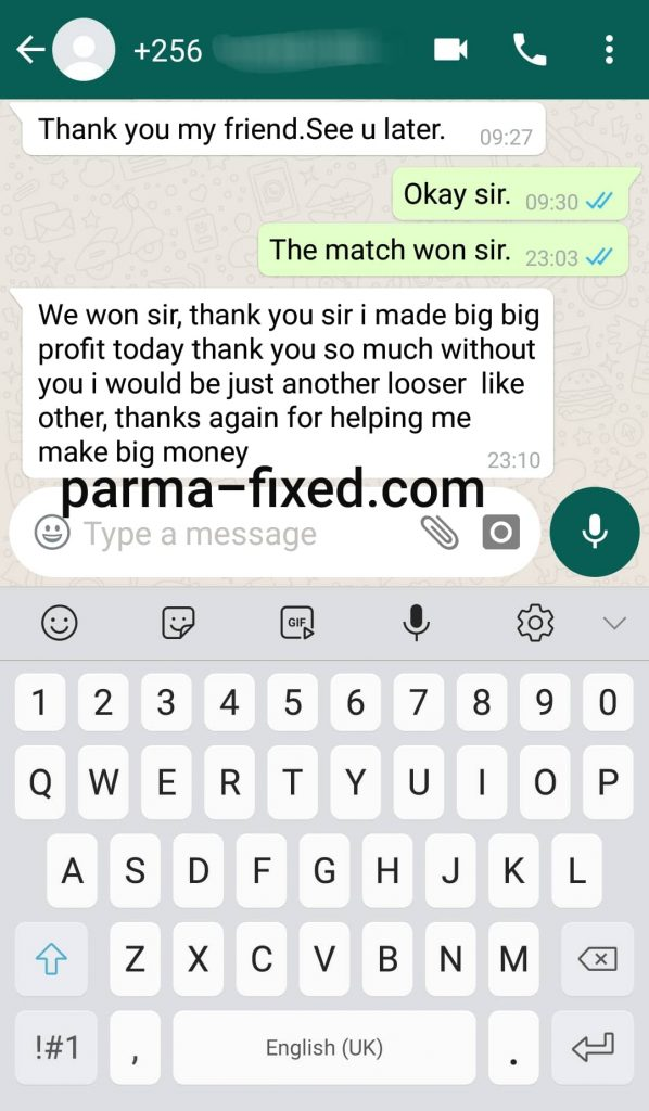 fixed matches tips